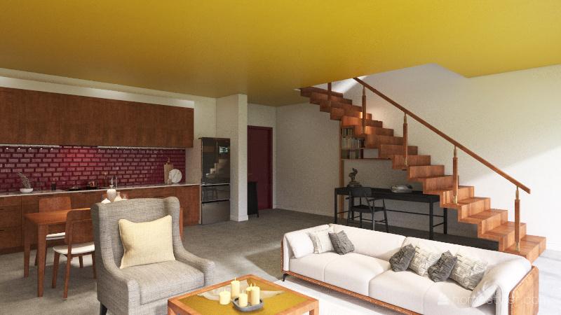 Loft barragan Interior Design Render