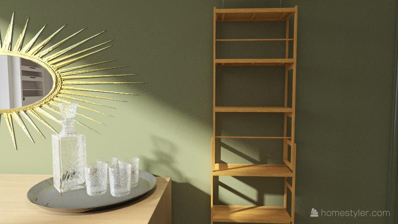 Ania beauty studio Interior Design Render