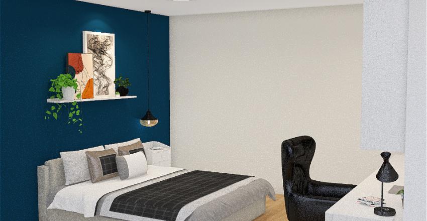 Fabi's bedroom Interior Design Render
