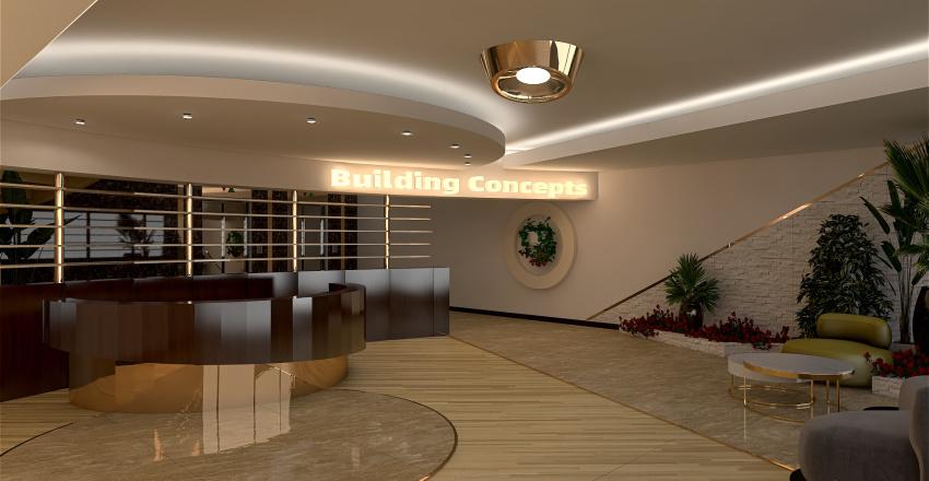RECEPTII Interior Design Render