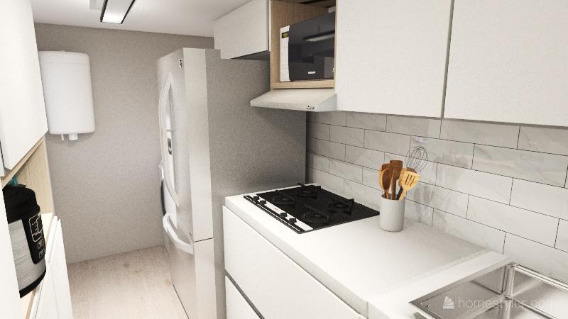 COCINA LAURA_TIA Interior Design Render