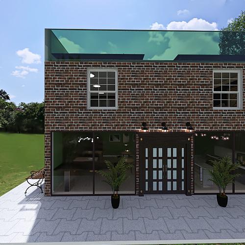 Commercial Design Project Interior Design Render