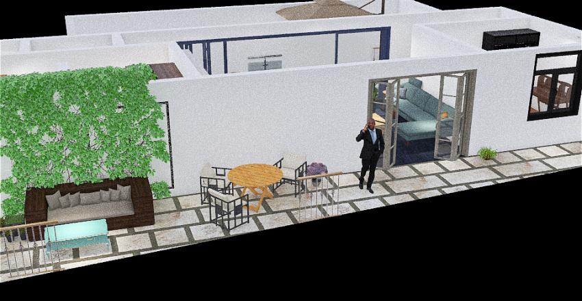 Bailén 5, 6.ezkerra Interior Design Render