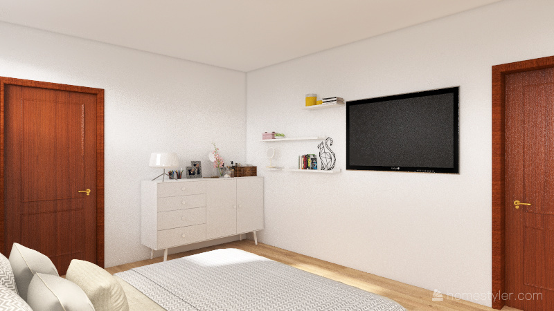 Mom and Dad's bedroom Interior Design Render