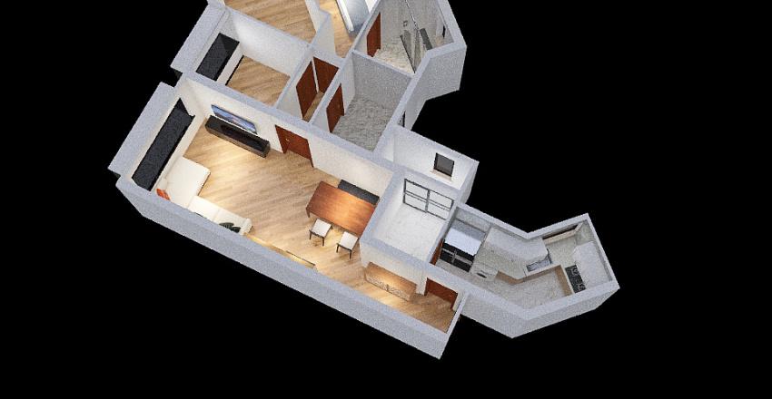 Sorrento_T5_34F_modified Interior Design Render