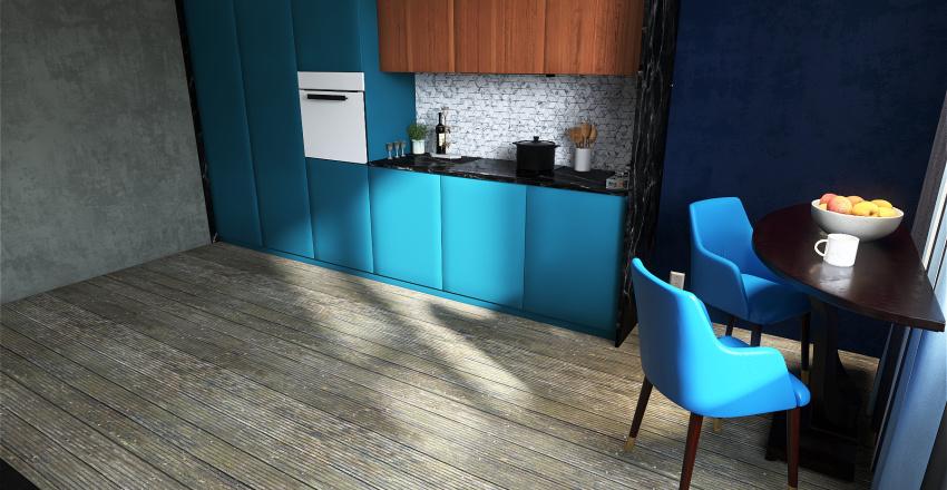 House 6 Interior Design Render