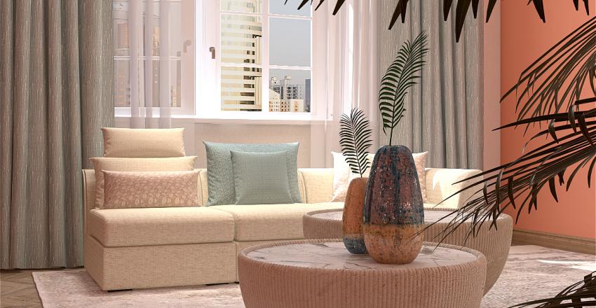 Apartments in Los Angeles Interior Design Render