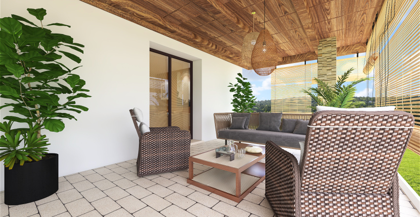 Cantiere3-VillaA Interior Design Render