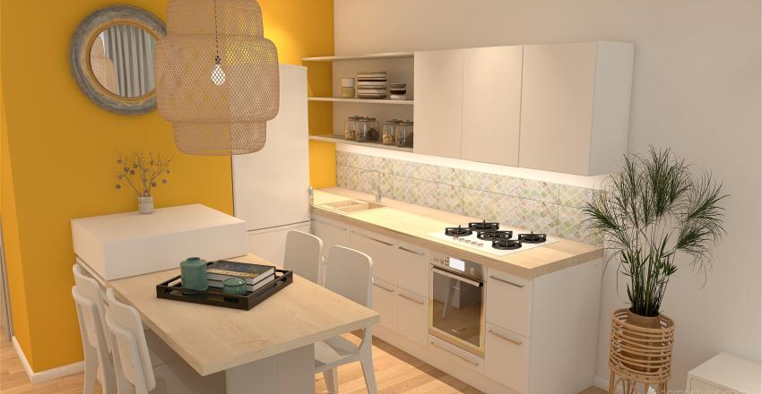 Studio bord de mer Interior Design Render