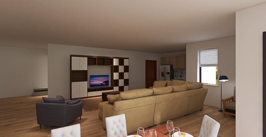 Bungalov 2 Interior Design Render
