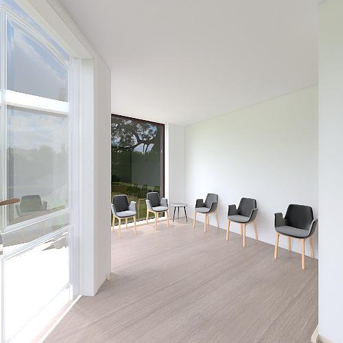Clinique Boisbriand Interior Design Render