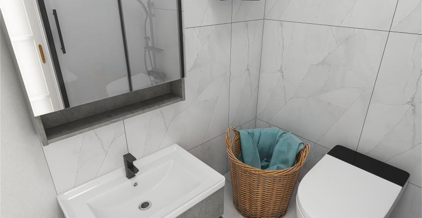 Blagorod 1-room flat Interior Design Render