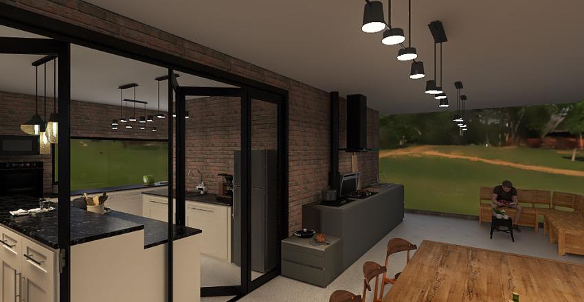 Projeto COL - Proposta B2 Interior Design Render