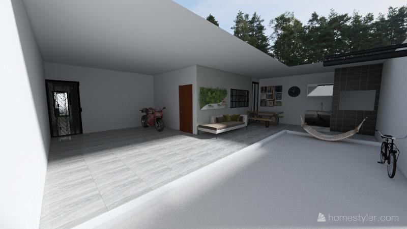 serac Interior Design Render