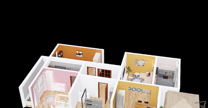 Copy of Copy of Copy of obývací pokoj Interior Design Render