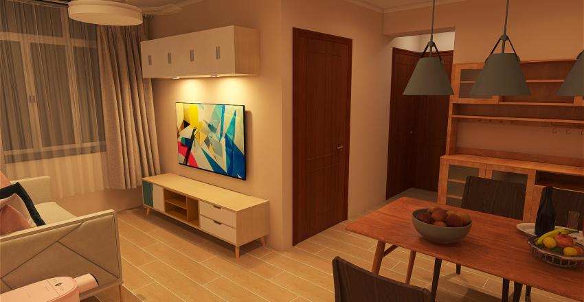YING MING 8 Interior Design Render