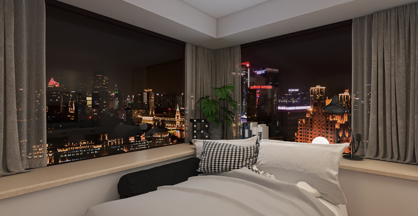 Bedroom 6 Interior Design Render