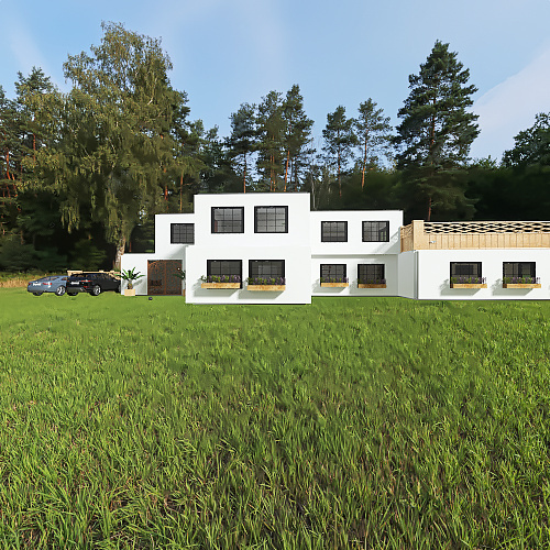 full house Interior Design Render