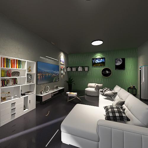 casa completa Interior Design Render