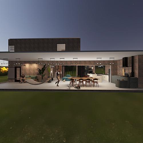 Projeto COL - Proposta D v6m Interior Design Render