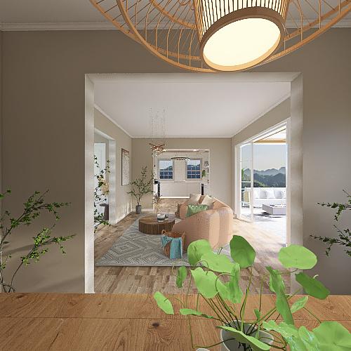 Wooden Dream Interior Design Render