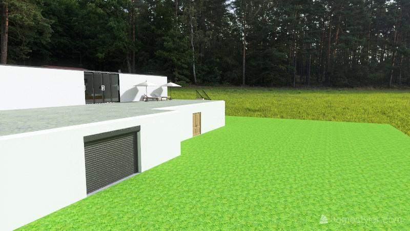 Country Mansion Interior Design Render