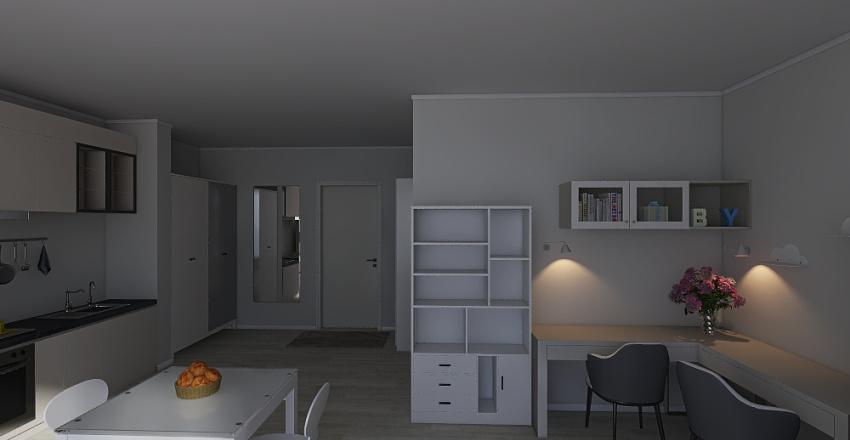 общ Interior Design Render