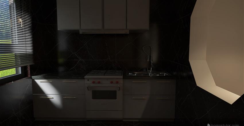 Amazing little home Interior Design Render