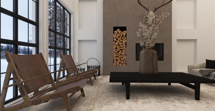  MY CANADIAN COTTAGE   Interior Design Render