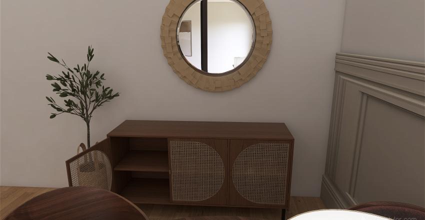 Rustic-kitchen Interior Design Render