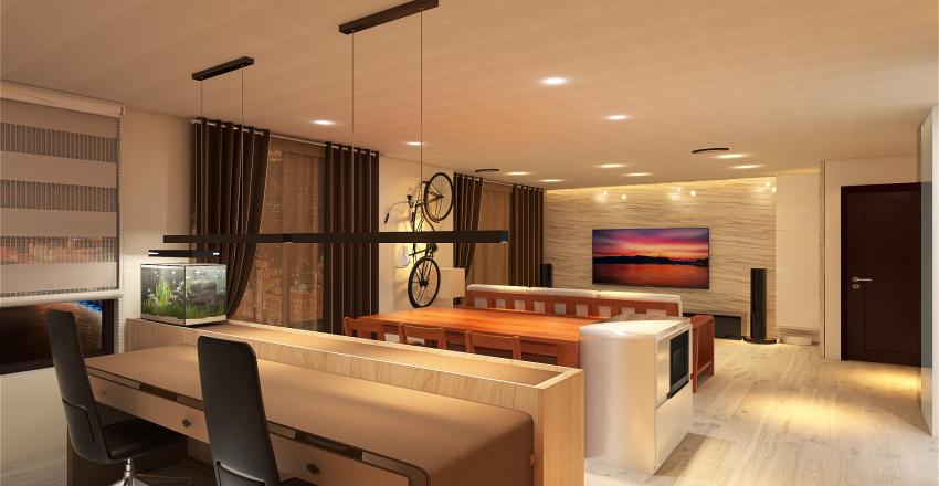 HOME0621 Interior Design Render