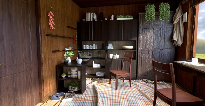 weasley twins room Interior Design Render
