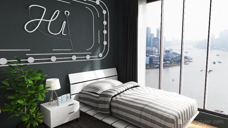 Bedroom 5 Interior Design Render