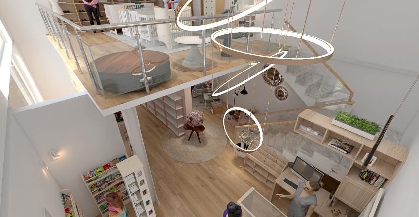 Tienda de Mobiliario infantil Interior Design Render