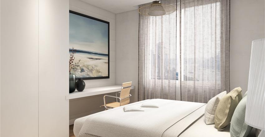 Apartamento Rio de Janeiro Interior Design Render