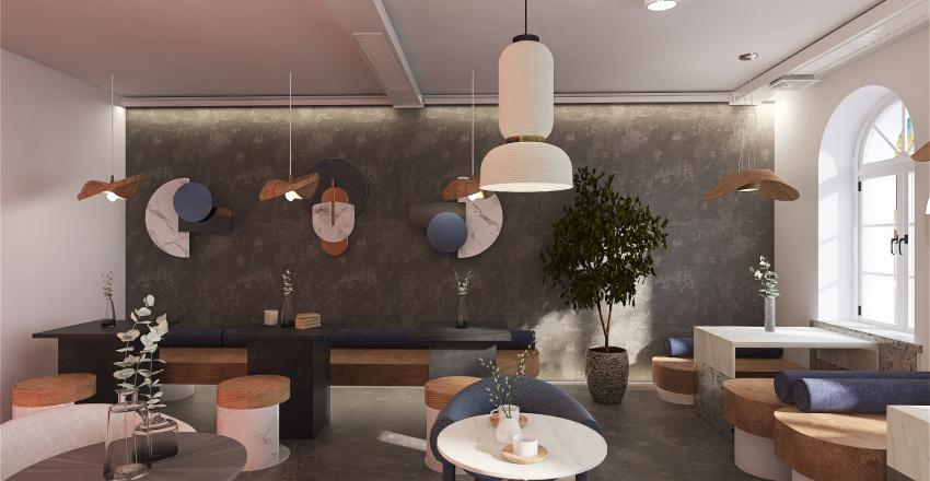 MONTE COFFEE Interior Design Render