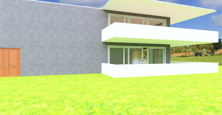 Freestanding Tower Apartment Complex Interior Design Render
