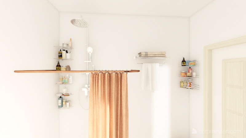 小さなアパート Interior Design Render