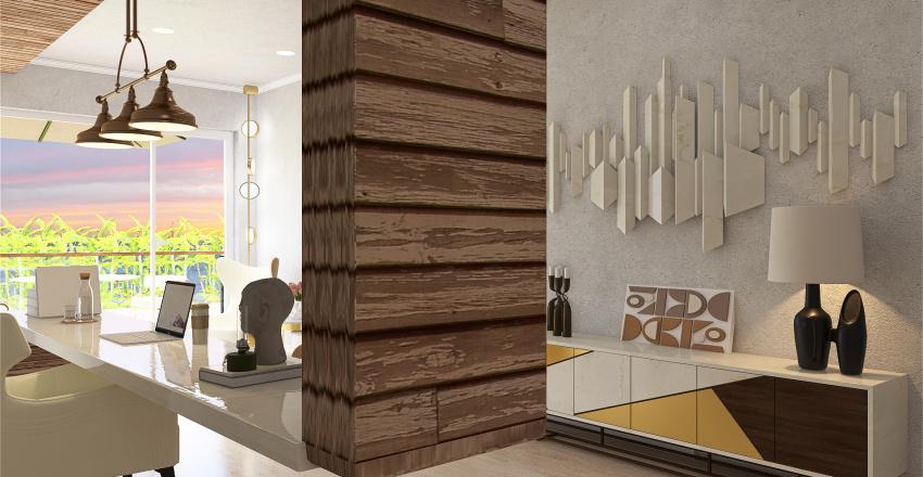 I LUXURY CALIFORNIA I Interior Design Render