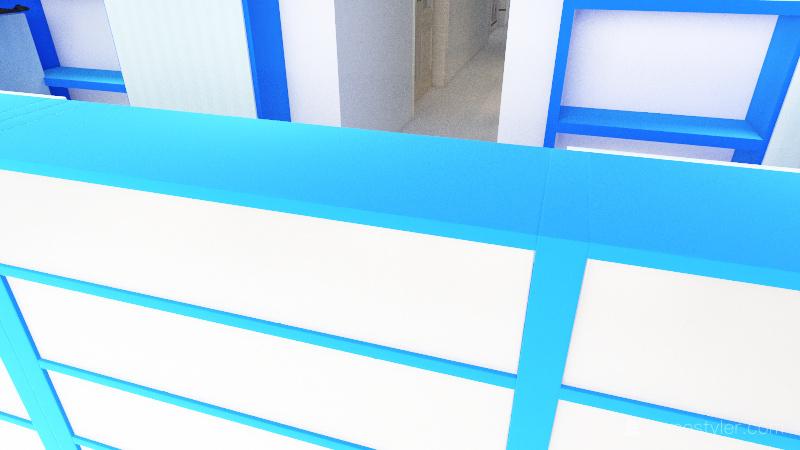 Plano de Droguería Interior Design Render