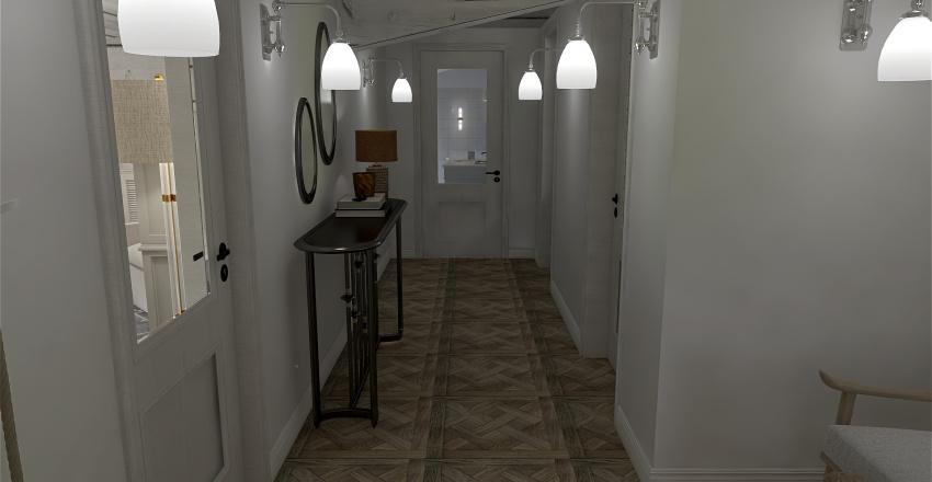 coastal house Interior Design Render