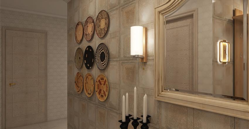 Белая студия Interior Design Render