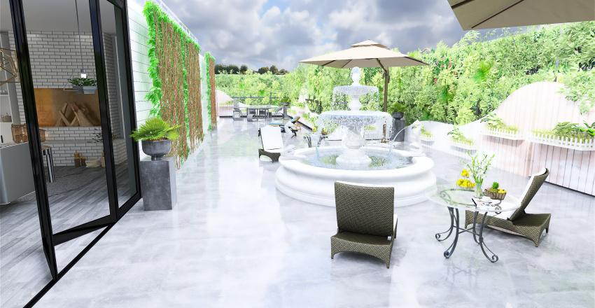 ArtDeco Interior Design Render