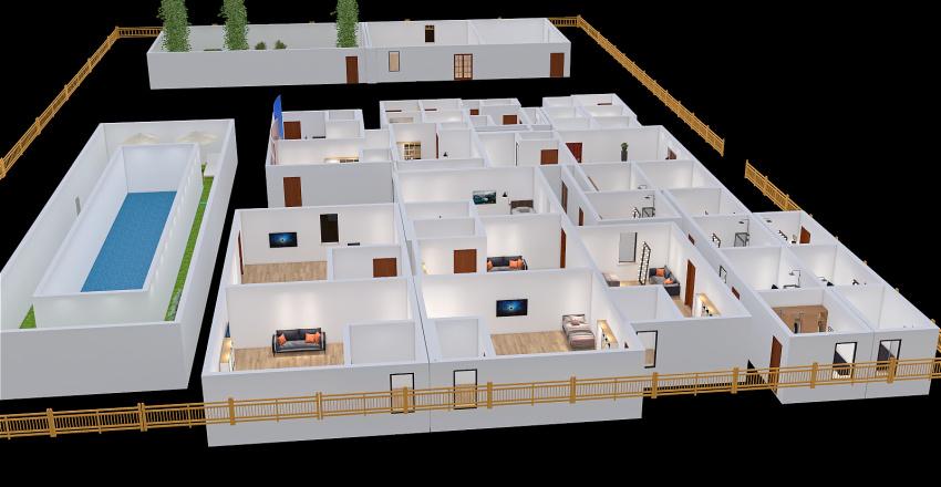 Copy of Eco-Hotel Interior Design Render