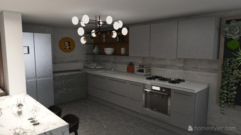 DEPA MID CENTURY MODERN Interior Design Render
