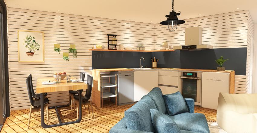 Pete's Glampagon Interior Design Render