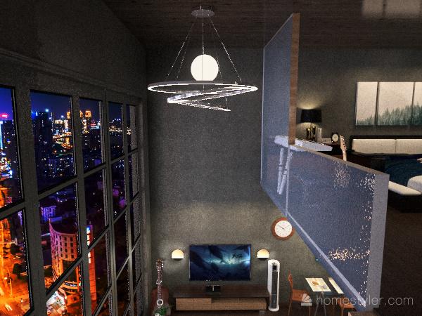 Matteo's Loft in OzzyDee's Residence Interior Design Render