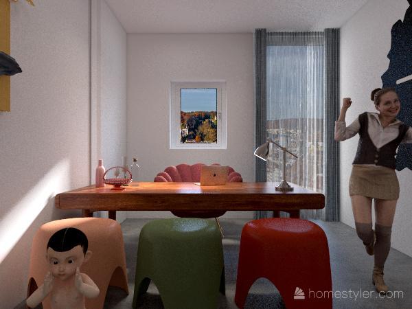 Nido Famiglia Interior Design Render