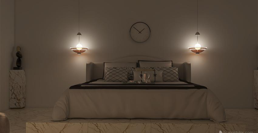 𝒢𝑜𝓁𝒹 - 𝒜 𝐿𝓊𝓍𝓊𝓇𝓎 𝒮𝓊𝒾𝓉𝑒 Interior Design Render