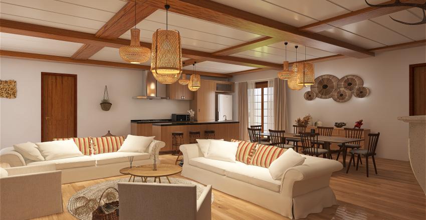 maison de campagne Interior Design Render